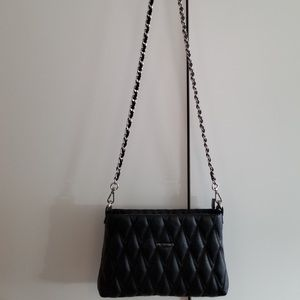 Valentino Bags - V by Valentino quilted crossbody/ clutch